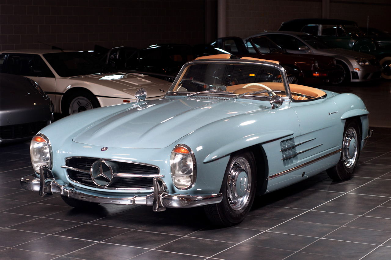 mercedes benz 300 sl gullwing roadsters autos post. Black Bedroom Furniture Sets. Home Design Ideas