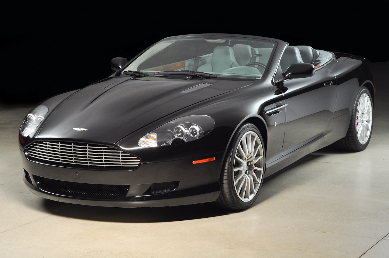 All The Latest Information Aston Martin Db9 Convertible Black