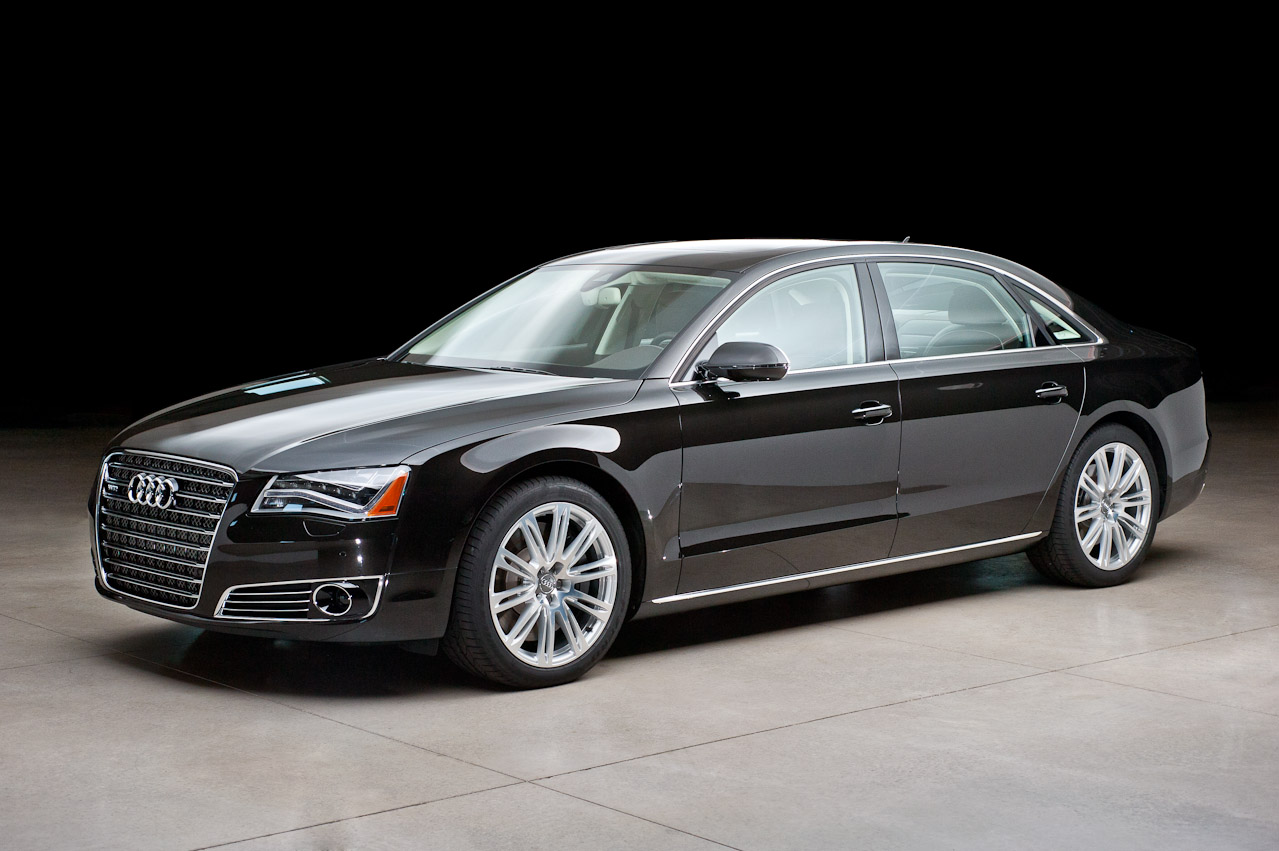on Audi A8 Executive Rear Seating